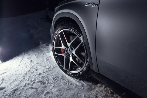Mercedes-Benz GLA 45 AMG Test - Räder Felgen Reifen 19 Zoll 20 AMG glanzgedreht