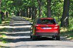Ford Focus Turnier Test - Heck Ansicht von hinten