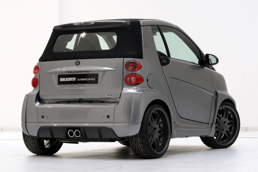 brabus ultimate style smart fortwo cabrio wird zur. Black Bedroom Furniture Sets. Home Design Ideas
