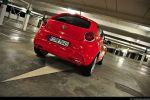 Alfa Romeo MiTo 1,4 TB 16V Test - Heck Ansicht hinten