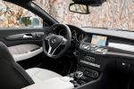Mercedes CLS 63 AMG Shooting Brake Test - Mercedes CLS 63 AMG Shooting Brake Test - Innenraum Nappa Alcantara Leder Mittelkonsole Sitze