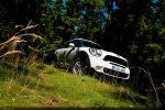 Mini Countryman R60 Cooper S All 4 Test - Front Ansicht vorne Frontscheinwerfer