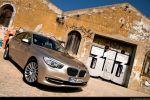 BMW 535i GT (Gran Tourismo) Test - Front Seite Ansicht vorne seitlich Felge vorne