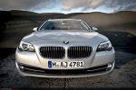 BMW 530d Touring 2011 Test – Front Ansicht vorne Kühlergrill Motorhaube Scheinwerfer