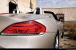 BMW Z4 sDrive35i Test - Heck Ansicht hinten Heckleuchte Rücklicht Scheinwerfer hinten