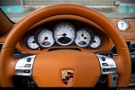 Porsche 997 Turbo Cabrio Test - Tacho Cockpit Drehzahlmesser Lenkrad