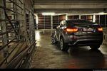 BMW X6 35d Test - Heck Seite Ansicht hinten seitlich Heckleuchte Rücklicht Scheinwerfer hinten
