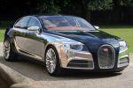 Bugatti 16 C Galibier Concept Limousine viertüriges Coupe FlexFuel Bioethanol 8.0 W16 Front Seite Ansicht