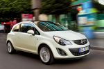 Opel Corsa Facelift Modelljahr MY 2011 Front Seite Ansicht 1.2 Twinport 1.4 Twinport Ecotec 1.6 Turbo LPG 1.3 CDTI Ecotec 1.7 Selection Innovation Sport GSi OPC Color Line Color Stripes Touch Connect