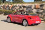 VW Volkswagen Beetle Cabrio 2015 TSI TDI DSG Heck Seite