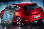 Opel Astra OPC PowerApp CAN-Bus Smartphone iPhone G-Kraft Rundenzeit Lap Timer Opel Performance Center 2.0 Turbo HiPerStrut FlexRide