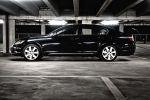 Lexus GS450h Test - Seite seitlich Ansicht schwarz Felgen Reifen Türen Scheiben