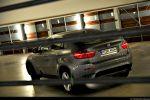 BMW X6 35d Test - Heck Seite Ansicht hinten seitlich