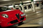 Alfa Romeo MiTo 1,4 TB 16V Test - Front Ansicht vorne Kühlergrill