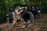 Cam Shaft Hummer H1 Pickup Ego Shooter Offroad Front Seite Ansicht