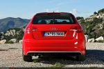 Audi RS3 Sportback Test - Heck Ansicht hinten Kofferrraum Deckel Klappe