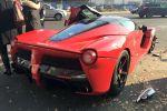 Ferrari LaFerrari Unfall Crash Budapest Ungarn 6.2 V12 Elektromotor Hybrid HY-KERS Supersportwagen Hypercar