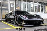 DMC Ferrari 458 Italia Elegante 4.5 V8 Tuning Leistungssteigerung Bodykit Aerodynamikkit Front Seite