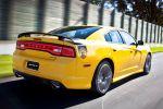 Dodge Charger SRT8 Super Bee 6.4 HEMI V8 Muscle Car Heck Seite Ansicht