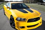Dodge Charger SRT8 Super Bee 6.4 HEMI V8 Muscle Car Front Seite Ansicht