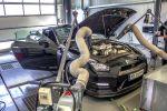 DTE-Systems Nissan GT-R Leistungssteigerung Tuning 3.8 V6 Biturbo PedalBox Front Motor Leistungsprüfstand