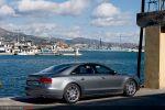 Audi A8 4,2 FSI Test - Seite Heck Ansicht seitlich hinten