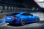 Jaguar XKR-S Coupe 5.0 V8 Kompressor Modelljahr MY 2012 Heck Seite Ansicht