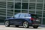 audi sq5 tdi test - quattro allrad performance suv 3.0 v6 biturbo diesel drive select comfort dynamic sport mmi navigation plus side assist active lane assist heck seite ansicht