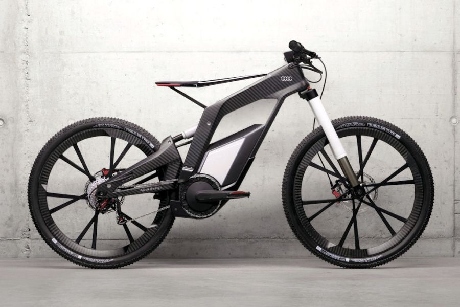 audi e bike w rthersee elektro fahrrad mit 80 km h spitze. Black Bedroom Furniture Sets. Home Design Ideas