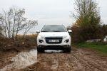 peugeot 4008 test - allure 1.8 l hdi fap 150 diesel 4wd allrad kompakt suv offroad front ansicht