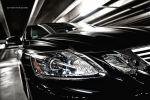 Lexus GS450h Test - Scheinwerfer schwarz Grill Kühlergrill Xenon