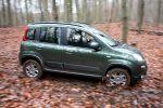 fiat panda 4x4 1.3 16v multijet test - allrad offroad geländewagen 1.3 16v multijet turbodiesel sperrdifferential kleinwagen seite ansicht