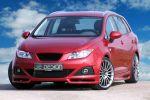 JE Design Seat Ibiza ST Kombi 1.6 TDI CR Elegance Multispoke Shadow Silver Front Ansicht
