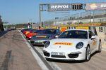 Pirelli P Zero Porsche 911 991 Carrera S Boxermotor Reifen Gummi Pneu Sportwagen Front Ansicht