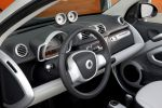 Smart Fortwo Pearlgrey Cabrio MHD Micro Hybrid Drive Tridion Softouch Passion Interieur Innenraum Cockpit