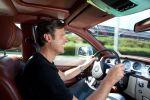 Rolls-Royce 102 EX Test - Ralf Schütze Cockpit Innenraum Lenkrad
