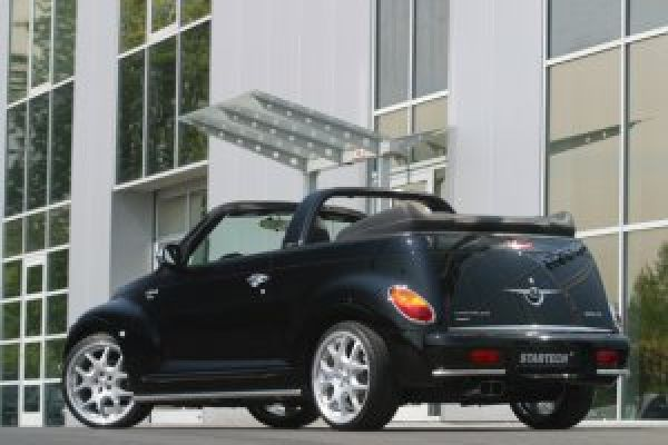 exklusives zubeh r f r das pt cruiser cabriolet speed heads. Black Bedroom Furniture Sets. Home Design Ideas