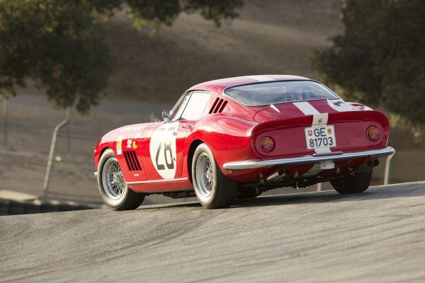 Ferrari 275 GTB/C Grand Turismo Berlinetta Competizione 3.3 V12 Auktion Versteigerung Preis Le Mans 1966 Rennwagen Scottsdale Heck Seite