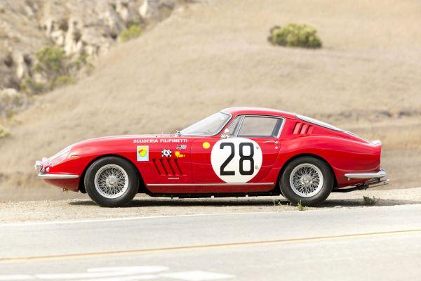 Ferrari 275 GTB/C Grand Turismo Berlinetta Competizione 3.3 V12 Auktion Versteigerung Preis Le Mans 1966 Rennwagen Scottsdale Seite
