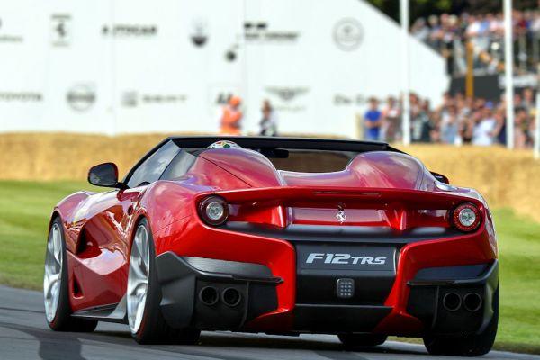 Ferrari F12 TRS Cabrio Barchetta 6.3 V12 Unikat Ferrari Special Projects Aero Bridge Heck