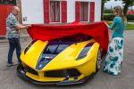 Ferrari FXX K Benjamin Sloss Christine Sloss Race Wife 6.2 V12 Elektromotor Hybrid HY-KERS Corse Clienti Hypercar Supersportwagen Front