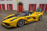 Ferrari FXX K Benjamin Sloss Christine Sloss Race Wife 6.2 V12 Elektromotor Hybrid HY-KERS Corse Clienti Hypercar Supersportwagen Front Seite