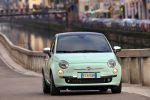fiat 500 cult 2014 test kleinwagen kult lattementa grün minz 0.9 TwinAir turbo tft display probefahrt fahrbericht review front