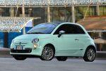 Fiat 500 Cult Kleinwagen Lattementa Grün Milchminz 0.9 TwinAir Turbo Dualogic TFT Display Front Seite