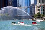 Fiat 500 Jetski Personal Watercraft schwimmen Boot
