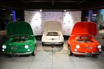 Fiat 500 Kühlschrank SMEG Küche Design Collection Front