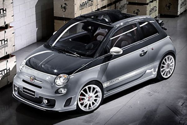 fiat 500c abarth esseesse giftige performance unter freiem himmel speed heads. Black Bedroom Furniture Sets. Home Design Ideas