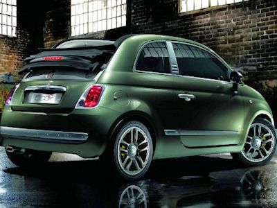 fiat 500c by diesel als cabrio einmalig und ganz gro in. Black Bedroom Furniture Sets. Home Design Ideas