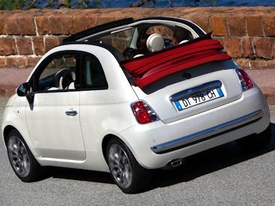 fiat 500c opening edition limitiertes welcome package f r. Black Bedroom Furniture Sets. Home Design Ideas