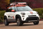 Fiat 500L Adventurer Mopar Mini Van Kombi MPV Multi Purpose Vehicle 1.3 MultiJet Diesel 0.9 1.4 Vierzylinder Front Seite